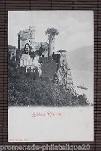 Postal-Posatle-Antigua-Schloss-Rheinstein