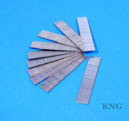 """1000 Tacwise 25mm Brad Nails 18 Gauge//18g//180 Galvanised for Gun 1/"""" Quality"""