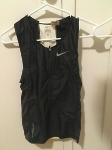 Black Fashion Style Nike Triathlon Mens Tri Suit Top And Bottom Xs