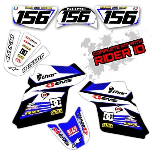 PW 80 1990-2017 MOTOCROSS GRAPHICS KIT YAMAHA PW80 DIRT BIKE RACE DECALS 12 13