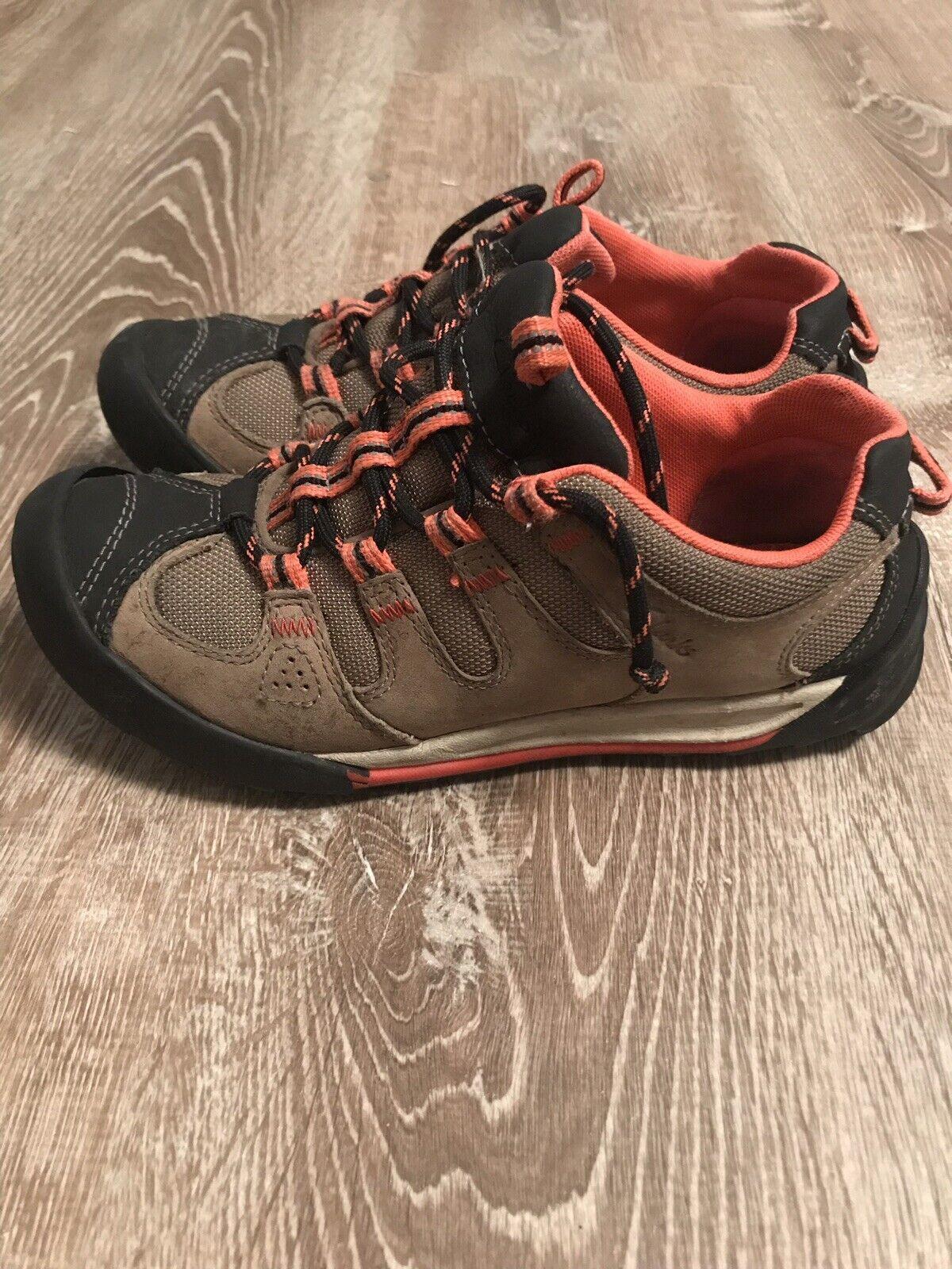 Clarks mujer Outlay South Nubuck Outdoor zapatillas Talla 5.5