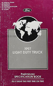 1997-Ford-Truck-Service-Specification-Manual-Ranger-Explorer-F150-Expedition-Van