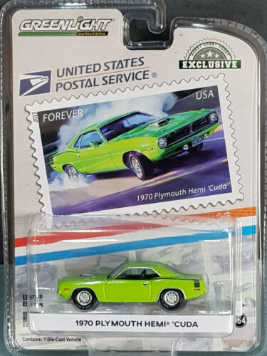 11629 30069 Greenlight HOBBY Exclusive-America on the move 1970 Plymouth Hemi