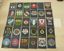 Panini stickers 1978 Jeans Fussball Badge Sticker full set of 30 badges RARE