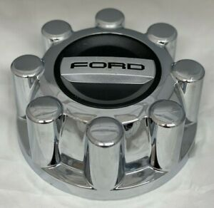 2017-2019-FORD-F250-F350-Superduty-CHROME-Center-Wheel-Hub-Cap-HC3C-1A096-KBC