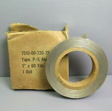 Vintage Tape Ps Aluminum 1 X 60 Yards 1 Roll Adhesive