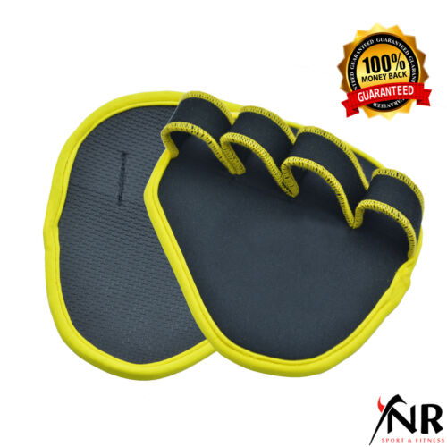 Weight Lifting Grips Training Gym Straps Gloves Hand Palm Support
