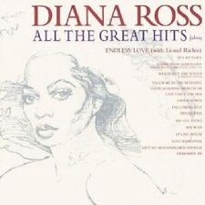 All the Great Hits by Diana Ross (CD, Oct-2000, Motown)