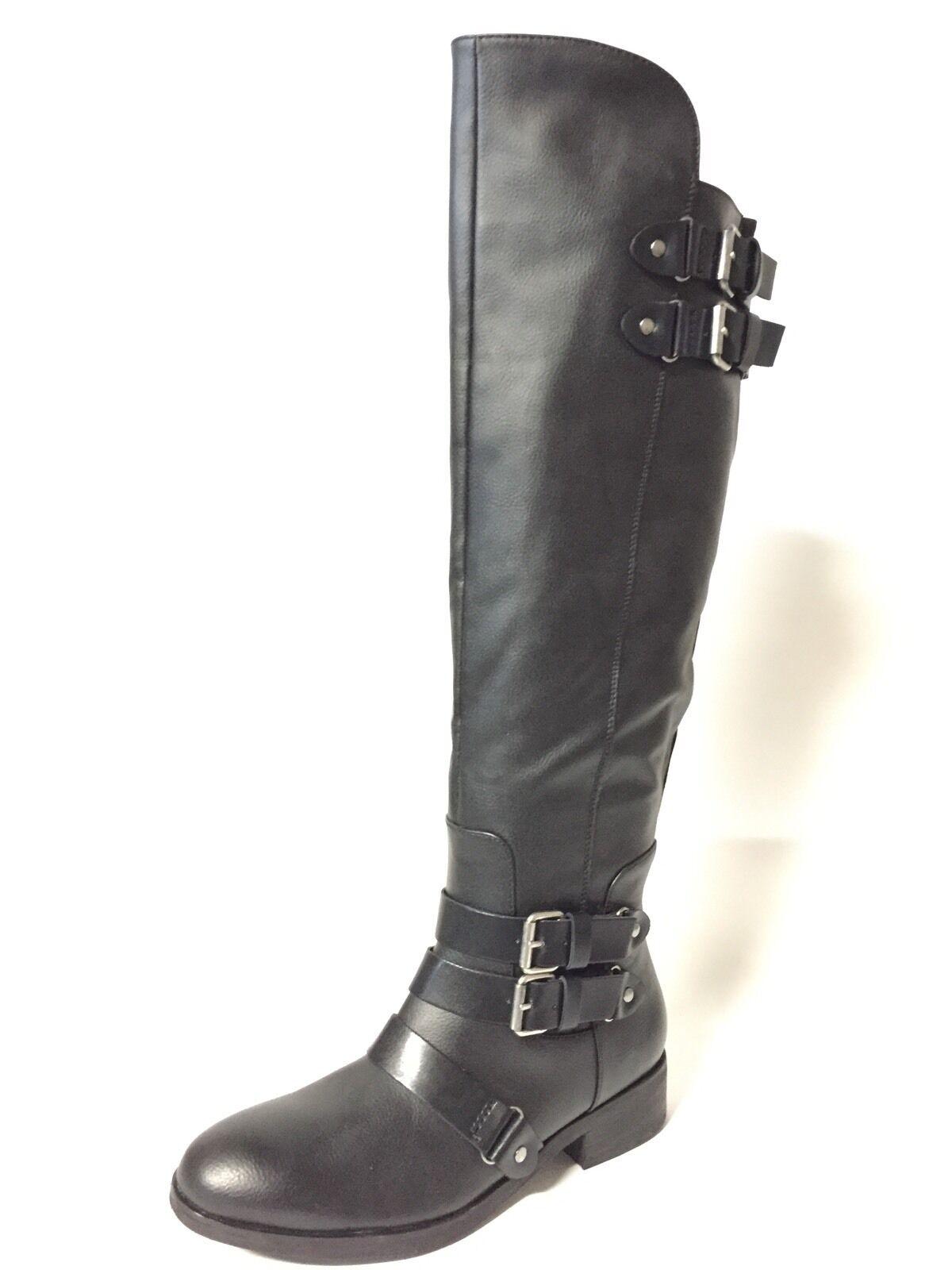 DV  la Dolce Vita oportunidad sobre la  rodilla OTK  Stretch micro suede Boot  Black 8,5 843ffe