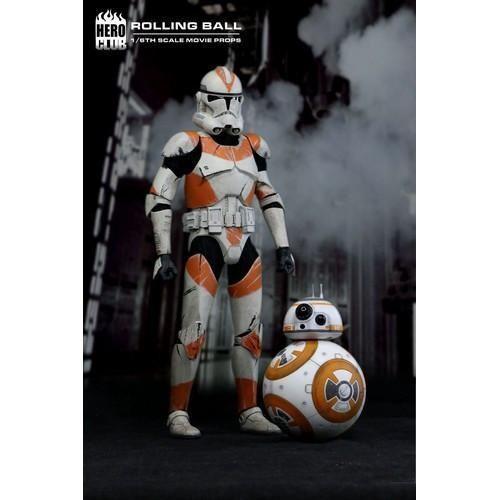 New New New 1 6 Star Wars The Force Awakens BB-8 Rolling Ball Figure Hero Club b81413