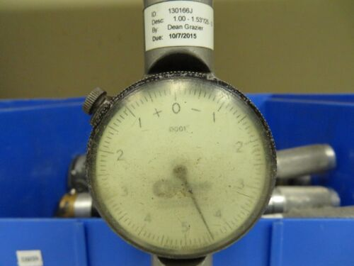 """Standard Dial Bore Gage No 2; 1-1.53/"""" .0001/"""" Tested DB59"""