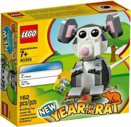 LEGO 40355 Year of the Rat EXCLUSIVE LIMITED EDITION Chinese New Year