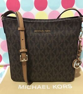 Image Is Loading New Michael Kors Jet Set Travel Pvc Lg