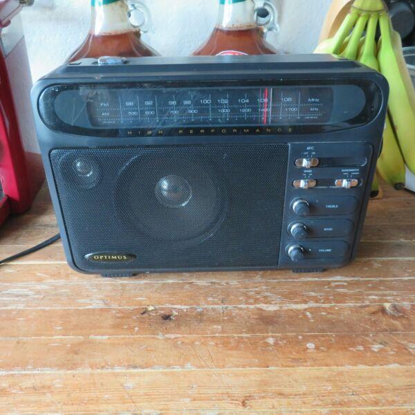 2019 Nieuwe Stijl Optimus 12-603a Am/fm Extended Range Portable High Performance Superradio Dx Seniliteit Uitstellen