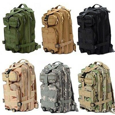 24L Hiking Camping Every Day Carry Tactical Assault Bag Day Pack Backpack Molle