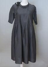 *Max Mara Black Dress with rhinestones Size 6 MSRP $1,050