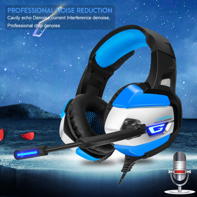 Onikuma K5 Stereo Gaming Headsets Headphones for Ps4 Xbox