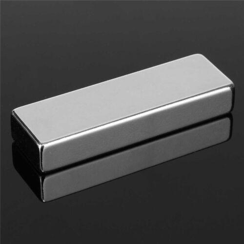 N52 60X20X10MM Super Stark Quader bar Seltenerd Neodym KÜHLSCHRANKMAGNET Gut