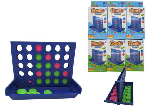24x 4 in einer Reihe Linie Gewinnt Gesellschaftsspiel Reisespiel Giveaway 460