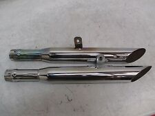 Cycle Shack Exhaust System Harley Davidson FXST MHD-137R F Chrome USED