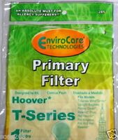 1 Pk Hoover Uh70120,windtunnel T-series Primary Vacuum Filter 285, 303173002