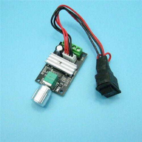 DC 6V~28V 12V 18V 24V 3A PWM DC Motor Speed Controller CW CCW Reversible Switch