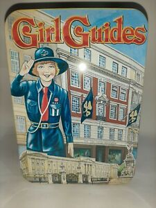 The-Girl-Guides-association-Vintage-Style-Biscuit-Tin-Cheshire-forest-1996