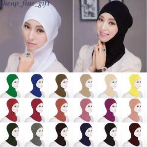 Muslim-Cotton-Inner-Ninja-Cap-Under-Scarf-Islamic-Cover-Hijab-Women-Hat-Headwear