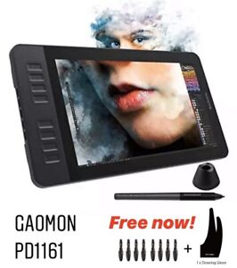 GAOMON-PD1161-IPS-HD-Drawing-Tablet-Monitor-Graphic-Pen-Display-with-8-Shortcut