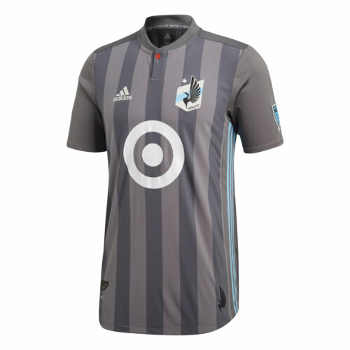 Minnesota United Primary Authentic Short Sleeve Shirt Top T-Shirt Mens 2019