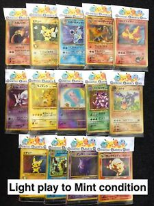 Japanese Pokemon Cards - Pocket Monsters Mystery Booster Pack Lot Holo Charizard