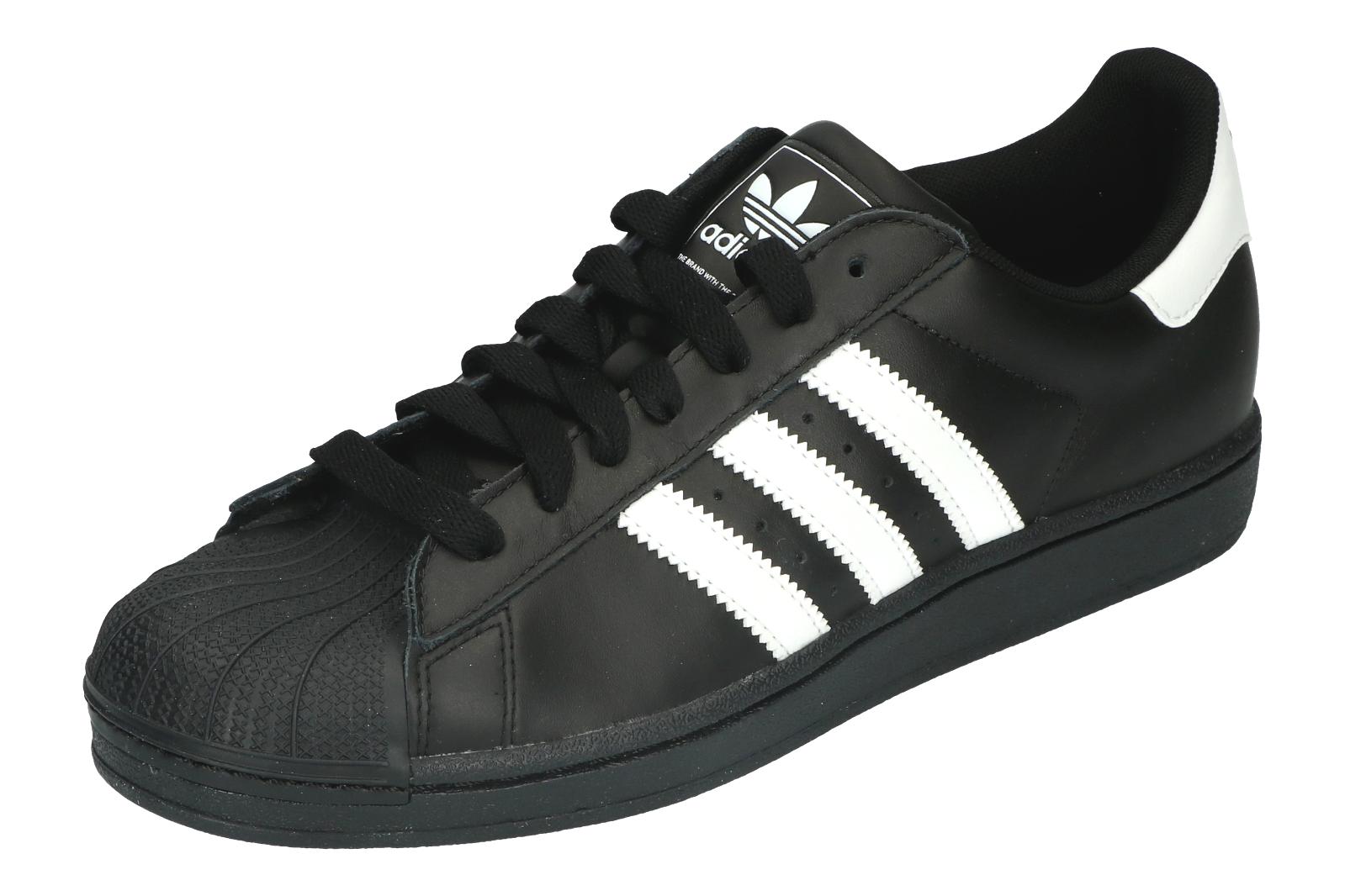 Adidas Originals Superstar Para Hombre 43 UE 43 Hombre 1/3 II Negro y Blanco Tenis G17067 a9bd2e