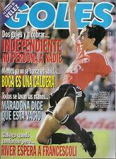 SOCCER VELEZ SARSFIELD - CHAMPION LIBERTADORES CUP 1994 RARE GOLES Magazine