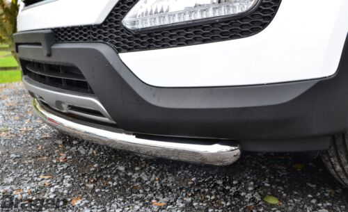 Pour s/'Adapter 2012-2016 FORD KUGA Acier Inoxydable Pare-chocs spoiler City Nudge Chin Bar