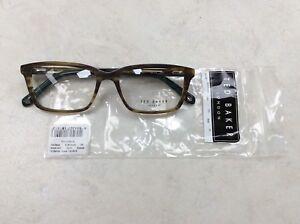 cd7030360a Ted Baker HOOPER 8159 145 Tortoise size 54x16 plastic glasses ...