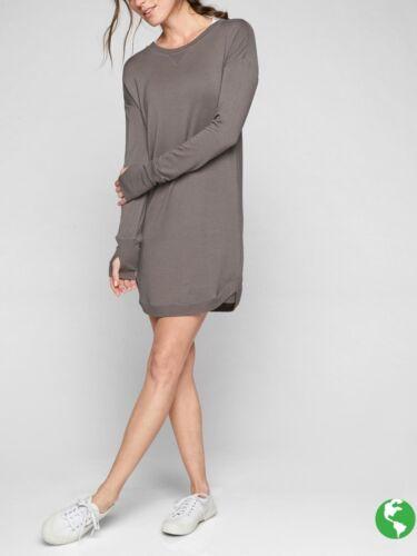 Athleta Recharge Dress, Mushroom Brown SIZE S