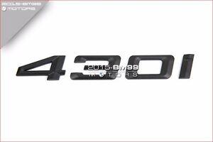 REAR TRUNK LID MATTE 430I EMBLEM BADGE LETTERS FOR BMW F32 4-SERIES 420I 428I