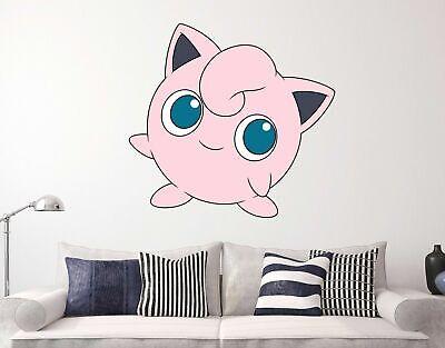 Singing Jigglypuff Pokemon Custom Wall Decals 3D Wall Stickers Art ST46