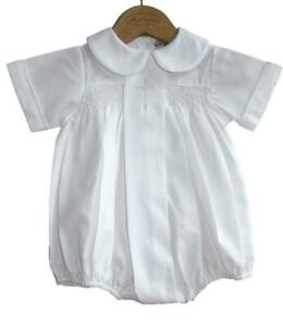 d8fc520ea Sweet Dreams Baby Boys Christening Baptism Bubble Set Outfit Smocked ...