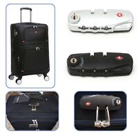 3 Digit Combination Padlock Luggage Suitcase Travel TSA Secure Code Lock