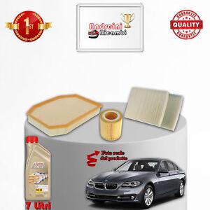 KIT-TAGLIANDO-FILTRI-E-OLIO-BMW-SERIE-5-F18-530-Li-190KW-258CV-DAL-2010-gt