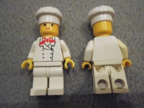 1x Lego Figur Set 4557 TRN018 4556 CHEF006 Fg-A 4810 PCK014 1249 DOC017 4285