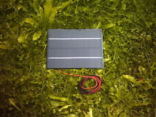 9VOLT 4.5WATT 500MA SOLAR PANEL FOR 7.2V BATTERY CHARGING ETC