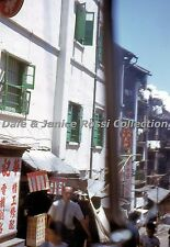 HK004 Single 35mm Slide 1962, One of Ladder Streets, Hong Kong China