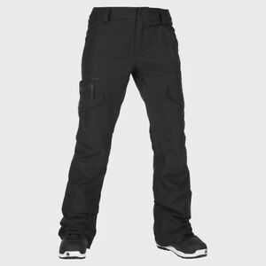 2019-NWT-WOMENS-VOLCOM-ASTON-GORE-TEX-PANT-S-Black-slimline-fit-flexible