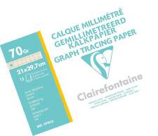 Clarefontane Ingres Pastel Paper 12 Sheets 130 g 24 x 32 cm