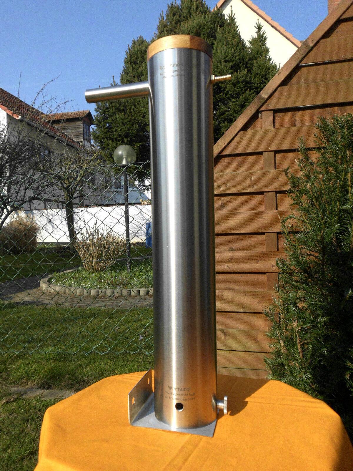 Kaltrauchgenerator Rauchmax XL Edelstahl Raucherzeuger Kaltraucherzeuger 6-7 Std