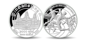 Rare  sought after 2020 countdown to Tokyo 1 oz Pure Silver Commemorative Coin