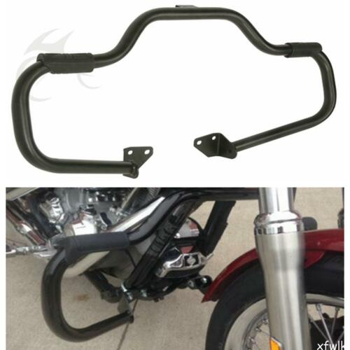 Engine Guard Highway Crash Bar For 2006-2017 Harley Dyna Street Bob Fat Mustache