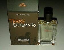 Hermes Terre D'Hermes EDT Mens Cologne Spray 12.5 ml / 0.42 oz Mini NIB